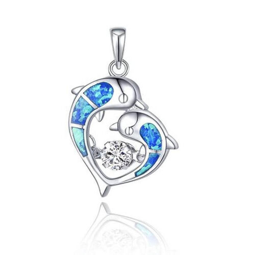 Dancing Dolphins Pendant